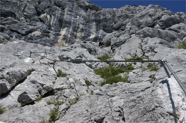 Hochthron Klettersteig