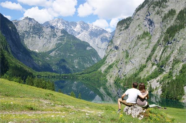 Wanderung Königssee und Obersee