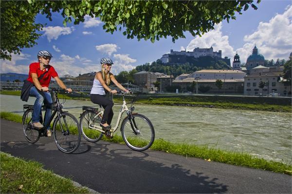 Radtour Salzburg Stadtrunde