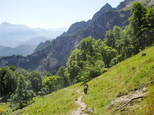 Alpinismo, escursionismo e arrampicate
