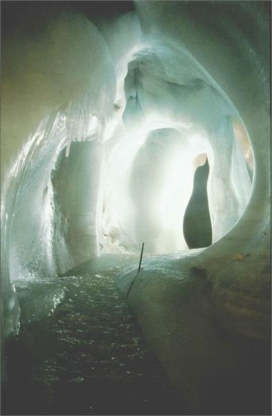 Grotta di ghiaccio a Marktschellenberg