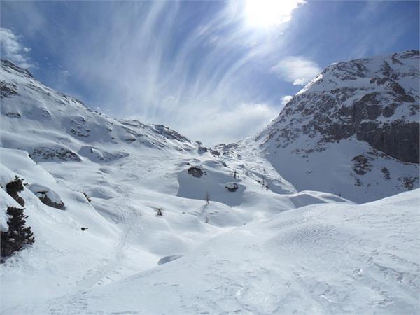 Ski mountaineering tour Schneibstein